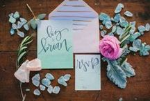wedding: invitations + stationery / by Danelle Bourgeois
