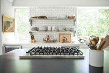 Inspiration | Kitchens / by Jessica @ Black. White. Yellow.