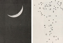 Inspiration | Luna + Astra / Of the moon and stars... / by Jessica @ Black. White. Yellow.