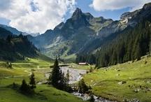 Bernese Oberland / Switzerland hiking trip inspiration.