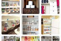 Cleaning & Organizing / Practical Tips That Will Simplify Your Life / by Revtgunn - The Soul Fashionista