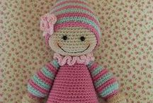 Dolls/Toys/Stuffed Animals-Sewn, Crocheted & Handcrafted / by Gayle Taylor Martin-Leemaster