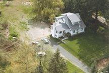 The Old White House Farm Ideas -- Farmhouse Craftsman Cottage Bungalow