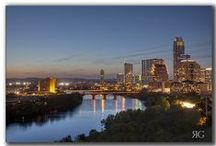 Austin Skyline and Landscape Photography and Images / From the iconic Frost Bank Tower to the sun setting behind Pennybacker Bridge, this gallery contains all things Austin. Whether it is pink plastic flamingos, the Austin skyline, birds-eye views of Town Lake and the architecture of Austin, or kayakers on Lady Bird Lake, you're sure to find the this capitol of Texas a great place to enjoy. For more images, please visit my facebook photography page at www.facebook.com/RobGreebonPhotography  or visit my business website at www.imagesfromTexas.com