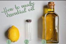 Health: Essential Oils / by Diane Cabral