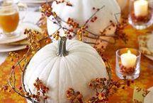 Tökös őszi dekorációk