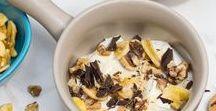 Greek Yogurt Recipes / Tasty and healthy recipes featuring one of my favorite ingredients, Greek Yogurt!