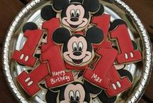 Kason's 1st Bday party Mickey Mouse / by Donna Parker