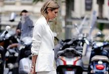 ALL WHITE / All white outfits  / by Harper and Harley - Fashion, Beauty and Lifestyle blog