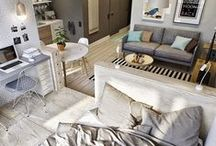 Small Home / Interior ideas for minimum space.