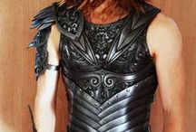 Handmade Leather Armour / Bringing the film world too life with our ancient armour creations!