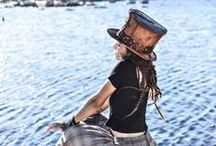 Steampunk Top Hats / Steampunk Top Hats and crazy unique head gear bringing imagination to life
