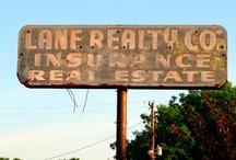 Vintage Realty Signs
