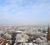 Winterimpressionen / Lower Saxony, Ostfriesland, Winterimpressionen vom Overledingerland