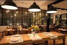 Restaurantes, Cafes  y lugares de comida / Salir a comer y tomar / by Sucu Sucu