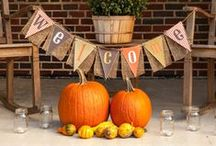 Feels Like Fall / Spread the feeling of fall with DIY projects and crafts! From front porch greetings to small details inside your home, custom stickers and decals are a great addition to your decor. / by Custom Car Stickers & Decals