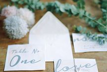 STATIONERY / Paper goods for Fine Art Wedding