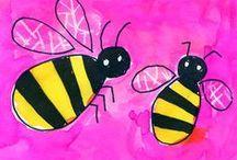 Kriebelbeestjes / Thema voor groep 1-2.