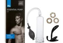 Pump Up the Fun with Cupid's Pumps and Pleasure Kits / We've received so many sensual sets of pleasure objects and penis pumps, each preparing you for a very specific sexy situation.