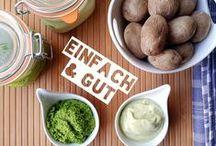 DEUTSCHE VEGANE REZEPTE / Veganes Essen mit deutschsprachigen Rezepten.  Alles ohne Milchprodukte,  Eier, Fleisch, Fisch und Käse. ..!