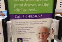 Eldercare Home Health Inc. / Eldercare Home Health provides Registered Nurse supervised and case managed PSW senior care, at a cost that is competitive with regular agencies: at Home, in Retirement Homes, in Nursing Homes and in Hospitals. We have been providing quality care to seniors in Toronto since 1995.