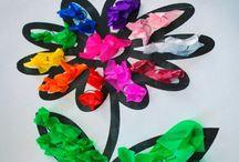 arts & crafts / Children's art and crafts idea