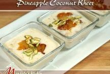 Indian Dessert Recipes / Here are some of the best indian Desserts / Sweets Recipes from Manjula's Kitchen.