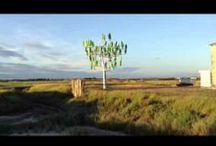 Prototype 1. Charente Maritime. Avril 2013 / Découvrez le premier prototype de l'Arbre à vent planté sur un terrain privé en bordure de mer.