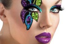 Character and fancy dress make-up / Get the look and become that perfect dress up character.