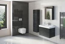 The Angelo Series / The Angelo Series from Tissino: A beautiful sculpted sanitaryware with exciting and practical bathroom storage.