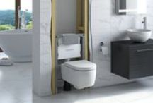 Rocco Series / The Rocco Series of hidden cisterns and frames has a well proven track record for reliability and performance, as well as being a firm favourite with installation professionals. From Tissino.