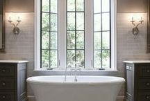 BATHROOM / bathroom designs with high style and unique finishes