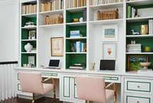OFFICE / from office nooks to dedicated study rooms, there are tons of ways to create a study/work space