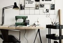 Workspace / Workspace/office decorating ideas