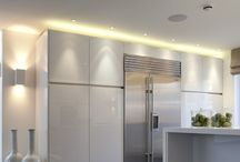 Lighting ideas / Lighting is an essential part of kitchen design. A mix of task and ambient lighting is important in the space. This board is a selection of inspirational images