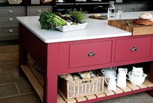 Coloured cabinets