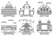 Graphics of major cities
