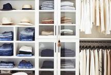 CLOSET / organization and functionality in closet spaces