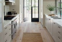 Galley & Narrow Kitchens / Some inspiration for narrow spaces.