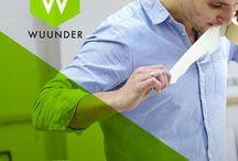 WeAreWuunder / De nieuwe standaard voor het versturen en ontvangen van je document, pakket & pallet. Boek supersnel via app, PC of webshop systeem tegen de beste prijs en chat met je klant.