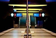 Metro, Subway, Tube, Underground