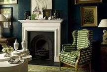 FIREPLACES / by Wendy Clarke / Unique Design Resource