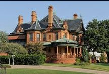 Fort Worth Wedding Venues / Images of Thistle Hill and Ball-Eddleman-McFarland House in Fort Worth, Texas