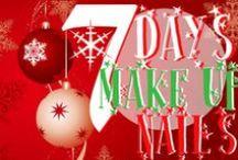 #7daysmakeupnails / Un pentolone magico di idee natalizie per il make up e la nail art info su http://mybeautytools.blogspot.it/2013/12/7daysmakeupnails-1-nail-art.html