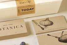 food branding design inspiration / Identity and packaging design board for the hungry