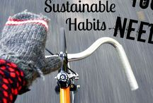 Sustainable Living / Inspirational articles about green living and a sustainable lifestyle.