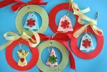 christmas crafts wreaths