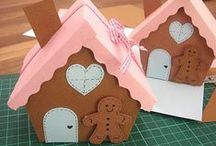 christmas crafts gingerbreads-gingerbreads houses-carols kids