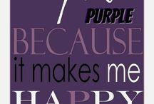 Purple and tones. / Bu renk.... ,seviyorum bu rengi.