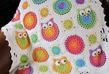 Crocheted,Crocheted blankets,handmade. / Hepsini yapası geliyor insanın.